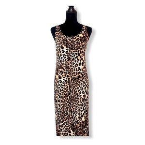 🌸3 for $20🌸 H&M Cheetah Print Sleeveless Maxi